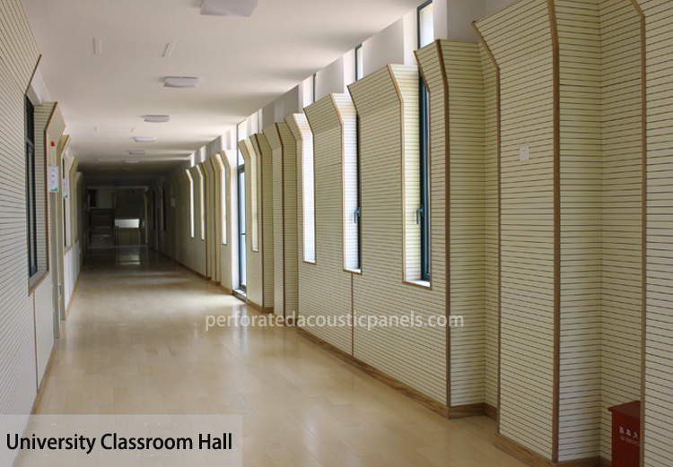 Acoustic Groove Panel Grooved Wood Paneling Wooden Grooved Acoustic Panels