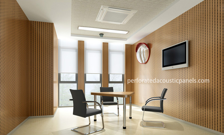 Mdf Tongue And Groove Panelling Perforated Acoustic Panels