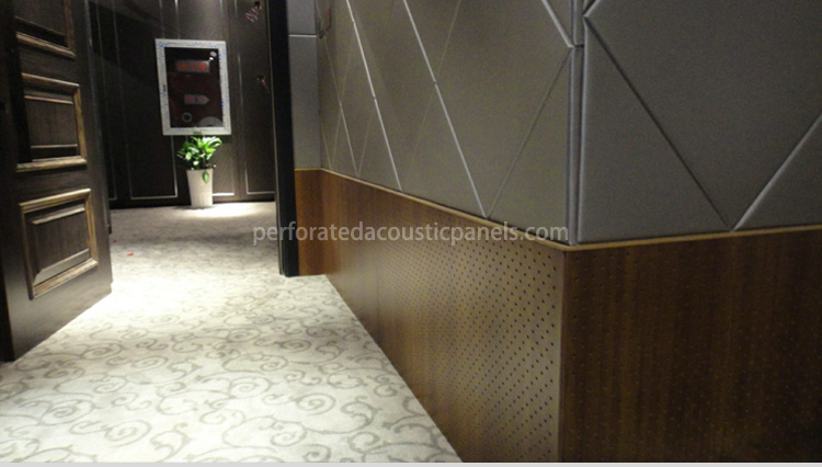 Perforated MDF Board Acoustic Panels Perforated MDF Sheet