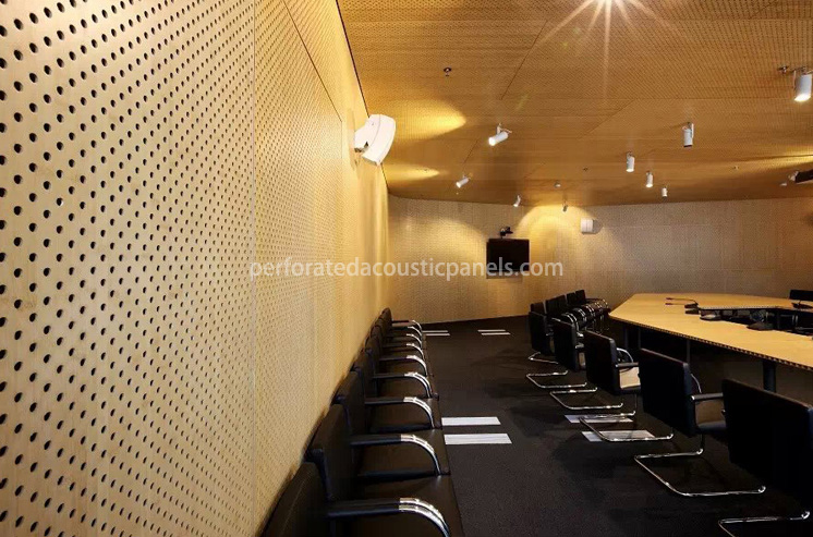 Timber Acoustic Panels – Perforated Acoustic Panels