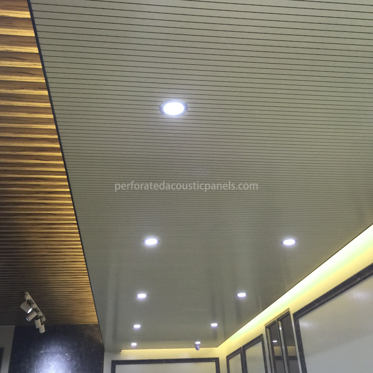 Ceiling Timber: Timber Slat Ceiling 2440 X 128 Mm