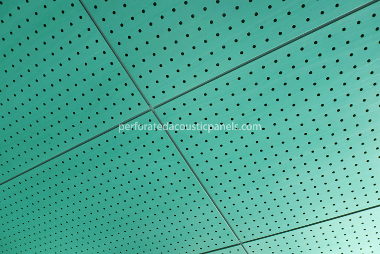 Tongue and Groove Ceiling Planks - Perforated Acoustic Panels