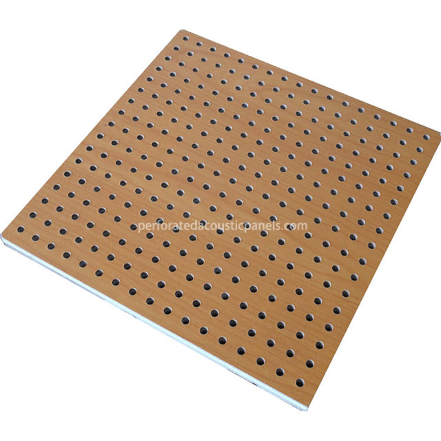 Acoustic Perforated Ceiling Manufacturers Wooden 600X600 Acoustic Ceiling Tiles 16-16-6