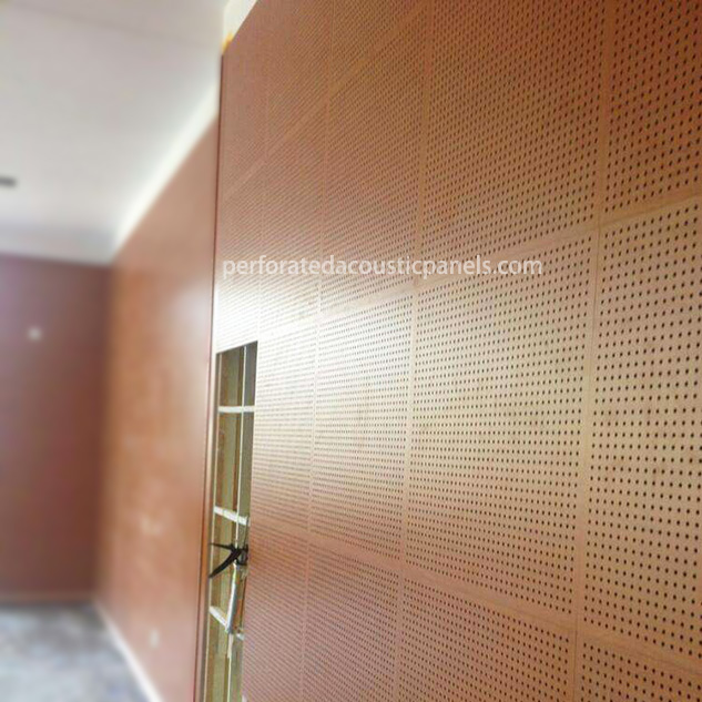 Decorative Perforated Wood Panels Perforated Acoustic Wood Panel Wooden Perforated Panels