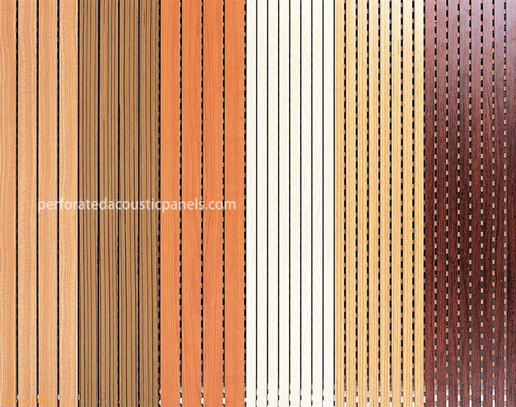 Grooved Wood Panel Factory Wood Slat Acoustic Panels Wood Panel Acoustic