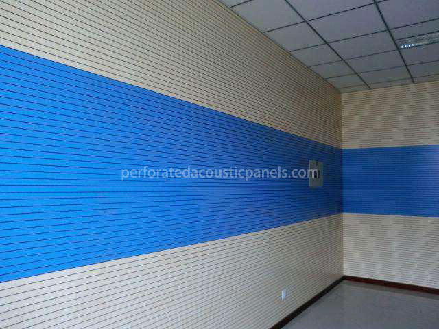 Linear Grooved Acoustic Panels Linear Sound-Absorbent Panels Multigroove Panels