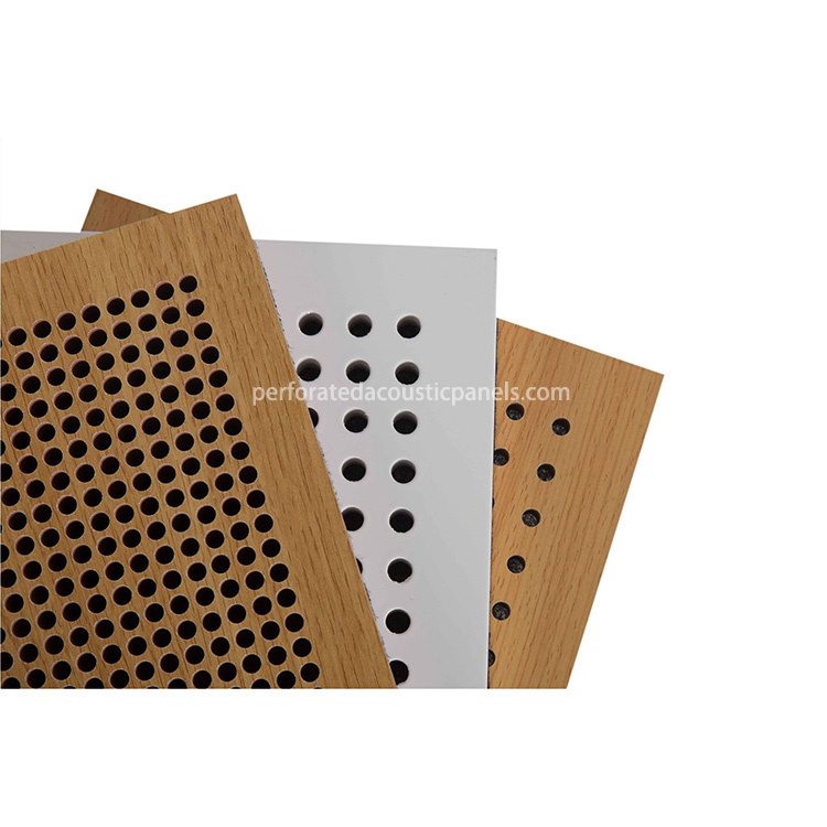 Perforated Acoustic Panels China Wooden Sound Absorption Panel Perforated Acoustic Panels Price