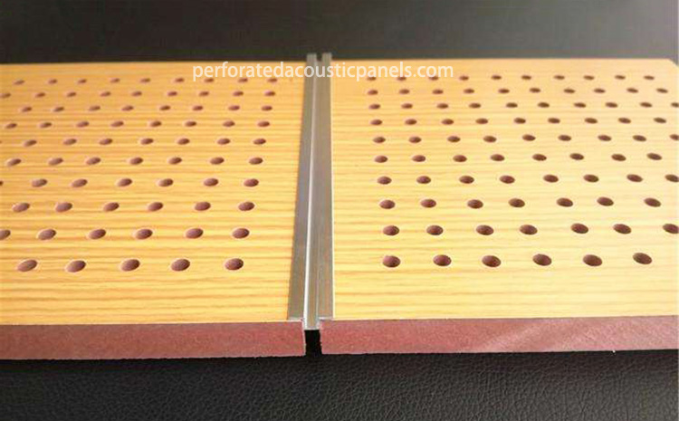 Perforated Wooden Panels Acoustic Perforated Sheets Perforated Board Panels