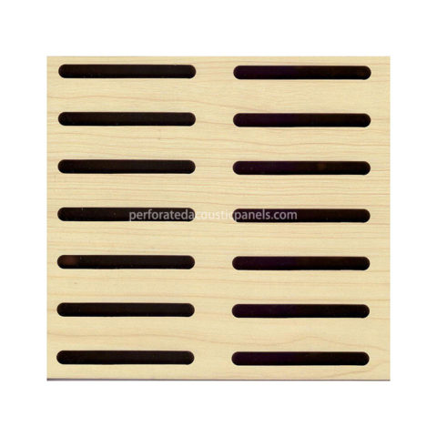 Slotted Acoustic Panels Factory Wooden Slotted Timber Panel for Walls