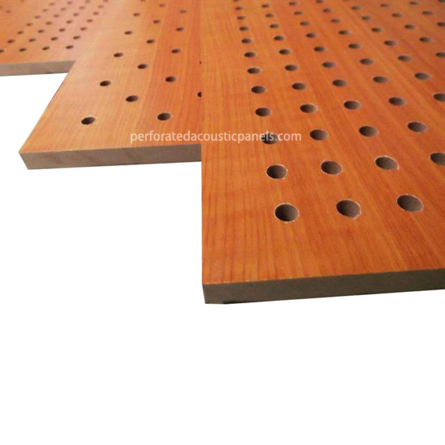 Wood Perforated Panels Factory Perforated Sheet Wood Perforated Wooden Board